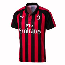 b0c6aadbed2 AC Milan home youth shirt 2018-19